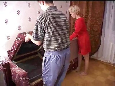 Russian mature mom and a friend of her son! Amateur! - wetxxxgirls.com
