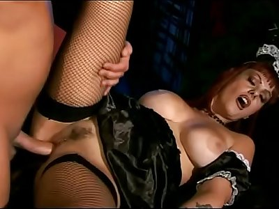 Asia D'argento is a sexy maid to screw